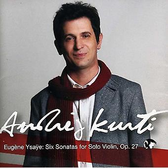 E. Ysaye - Eug NE Gittes E: seks sonater for Solo Violin, Op. 27 [CD] USA import