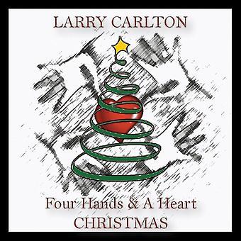 Larry Carlton - fire hænder & et hjerte jul [CD] USA importerer