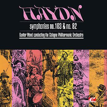 Haydn / Wand / Cologne Symphony Orch - Symphony 103 in E-Flat Major [CD] USA import