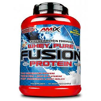 Amix Pure Whey Chocolate Fusion (Sport , Proteïnen en koolhydraten)