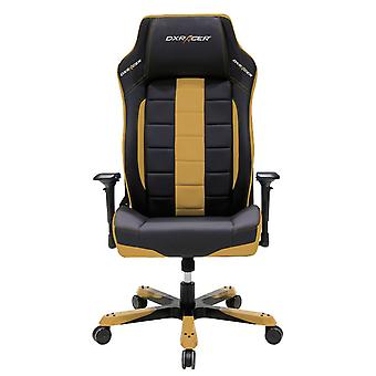DX Racer DXRacer OH/BF120/NC Big and Tall Executive Chair Leather Style Vinyl(Black/Coffee)