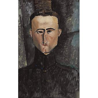 Amedeo Modigliani - Andre Rouveyre Poster Print Giclee