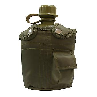 Military 1L Water Bottle Canteen With Covers Cases