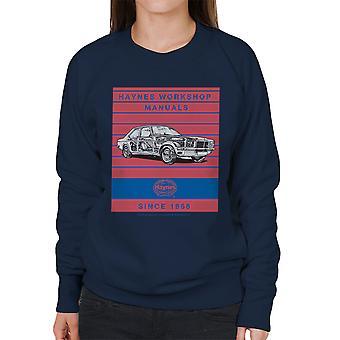 Haynes Workshop manuell 0108 Vauxhall Victor VX4 90 Stripe kvinners Sweatshirt