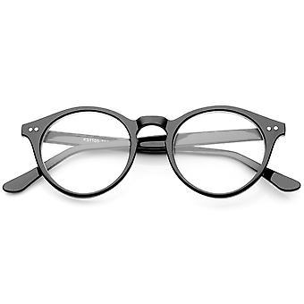 Retro Nøglehullet næse bro klar linse P3 runde briller 46mm