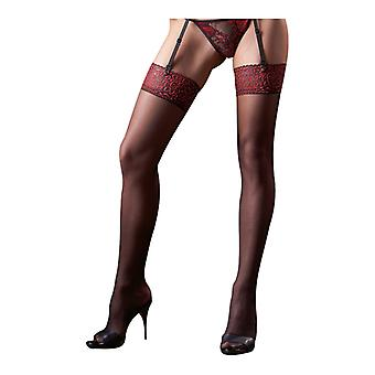 Sexy Red Suspender stockings