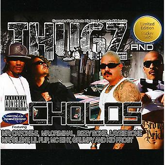 Hipower Entertainment - Thugz & Choloz [CD] USA import