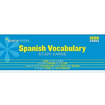Spanish Vocabulary SparkNotes Study Cards by SparkNotes
