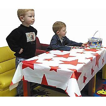 SALE -  Star Print Tablecover | Party Tablecloth Tablecover Tableware