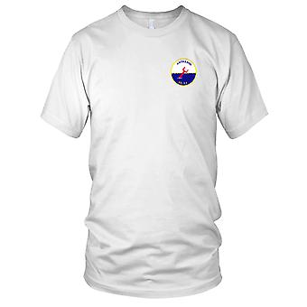 US Navy USS Anthedon AS-24 broderad Patch - Mens T Shirt