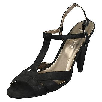 Ladies Anne Michelle Low Heeled Court Shoes