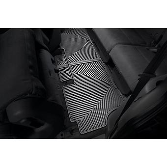 WeatherTech All-Weather Trim to Fit Rear Rubber Mats for Honda Odyssey, Black