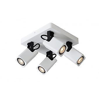 Lucide ROAX Spot LED 4xGU10/5W Incl Dimmable 320LM
