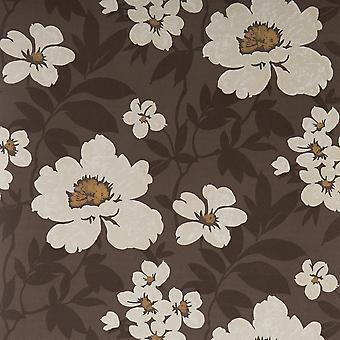 Blendworth Brown Wallpaper Roll - Paper Trail Bayswater Design - Colour: BL-0901