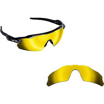 Radar EV Pitch Replacement Lenses Polarized Gold by SEEK fits OAKLEY Sunglasses