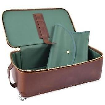 Daines & Hathaway Leather Brooklyn Chestnut Box Wet Pack