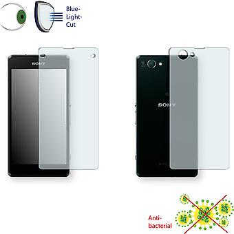 Sony Xperia D5503 front + back screen protector - Disagu ClearScreen protector (1 front / 1 rear)