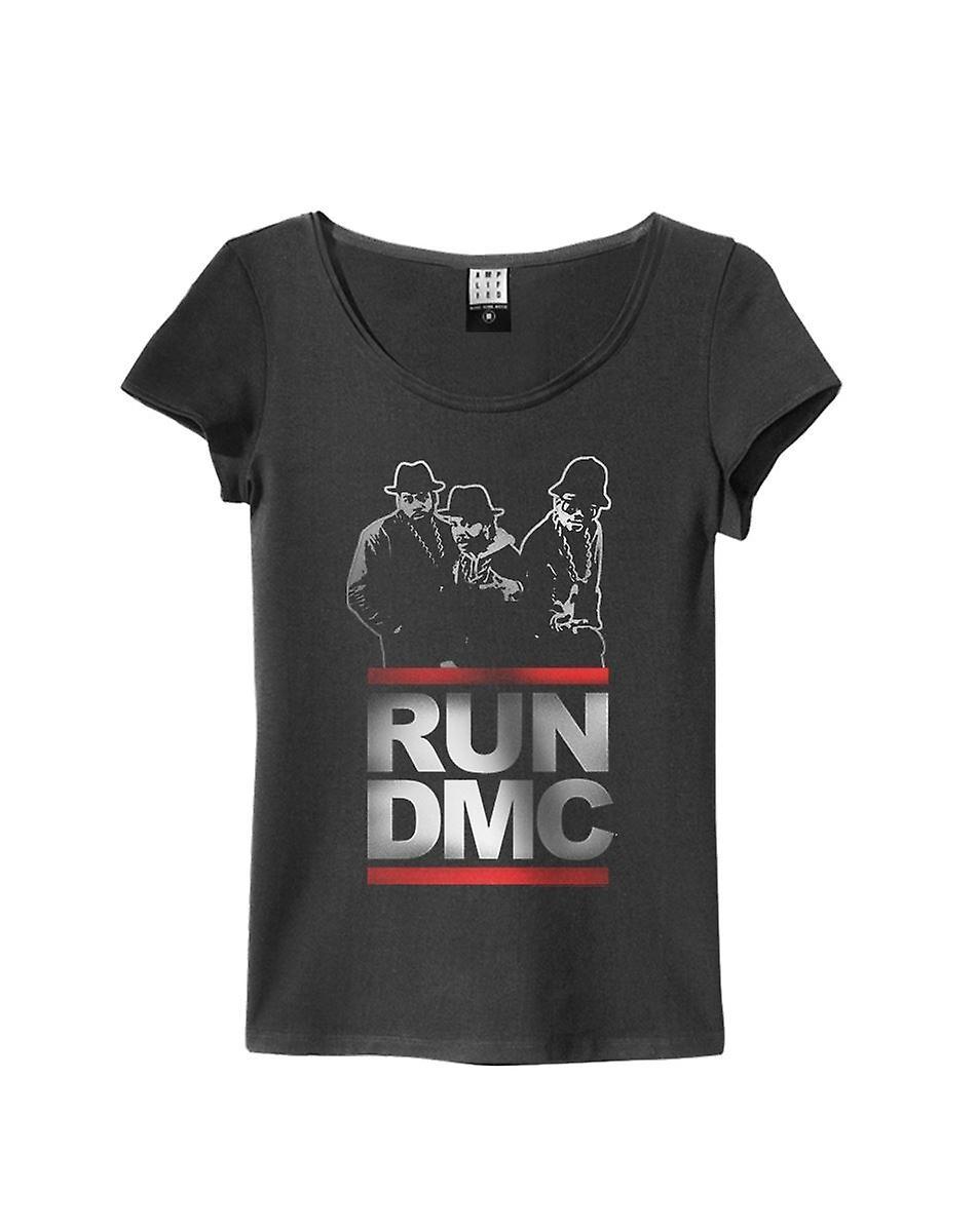 Amplified Run DMC Silhouette Women's T Shirt