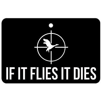 Hvis det flyver det dør bil luftfriskere