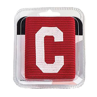Captains Armband Big C Style Red Junior