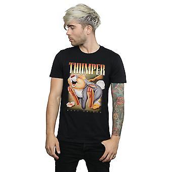 Disney Herren Bambi Klopfer Montage T-Shirt