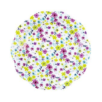 Talking Tables Truly Ditsy Small Colourful Floral Paper Plates for a Tea Party or Birthday (12 Pack)