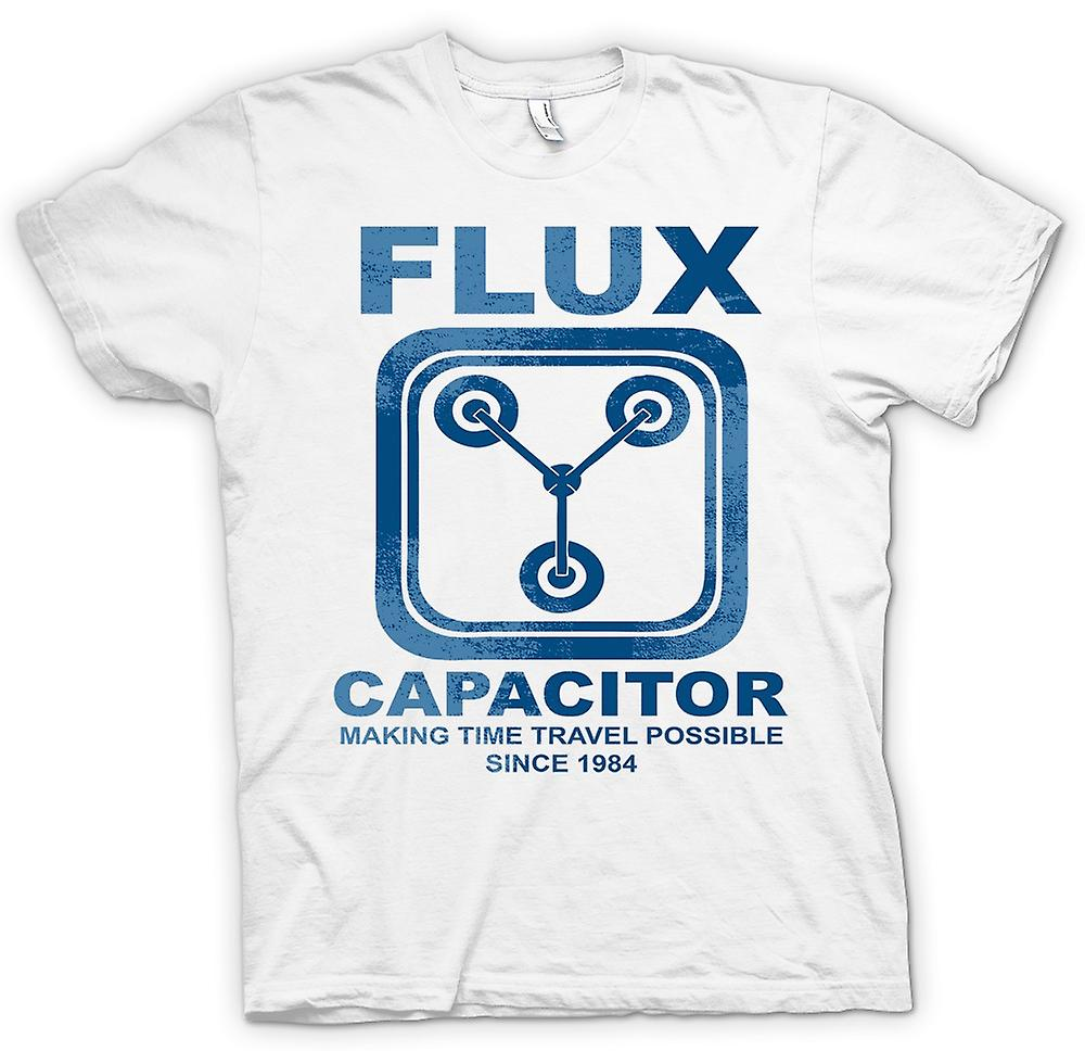 Womens T-shirt - Flux Capacitor - Making Time Travel Possible