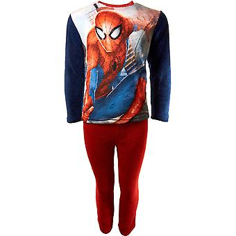 Jungen HQ2148 Marvel Spiderman Fleece Langarm Pyjama Set