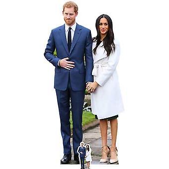 Prinz Harry & Meghan Markle Karton Ausschnitt