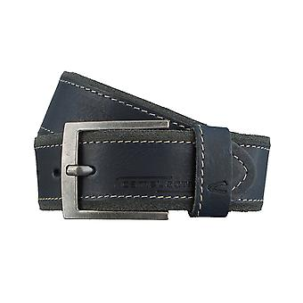 Camel active belts men's belts leather belt blue 3107