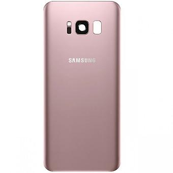 Samsung GH82-13962E battery cover cover for Galaxy S8 G950 G950F + adhesive pad pink