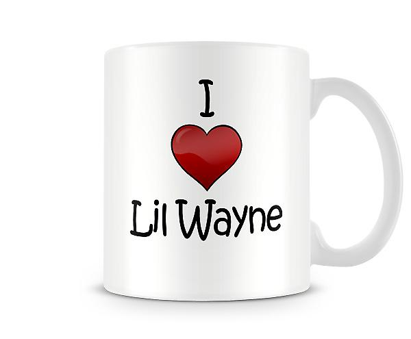 I Love Lil Wayne Printed Mug