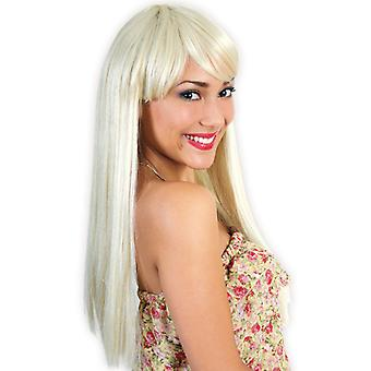 LILO wig blonde long hair pony