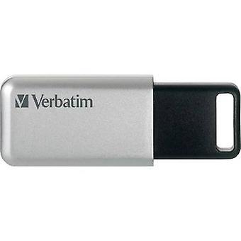 Verbatim Secure Pro USB stick 64 GB Silver-black 98666 USB 3.0