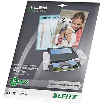 Laminate sheet Leitz A4 80 micron glossy