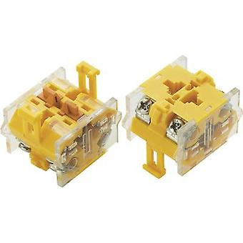 Contact 2 breakers momentary 500 V AC TRU COMPONENTS LAS0-A 1 pc(s)