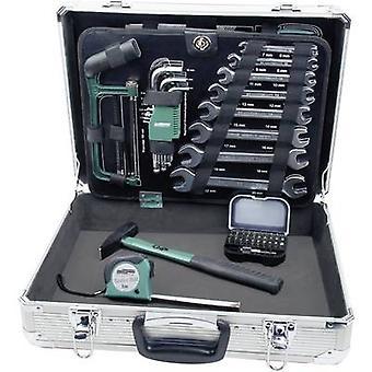 Caja de herramientas de bricolaje (+ herramientas) 108 piezas Brüder Mannesmann