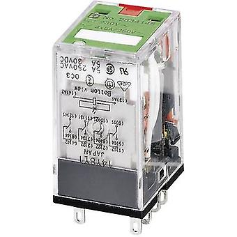 Phoenix Contact 2834122 REL-IR/L- 24AC/4X21 AU Plug-In Industrial Relay 4 changeover contacts 24 V AC