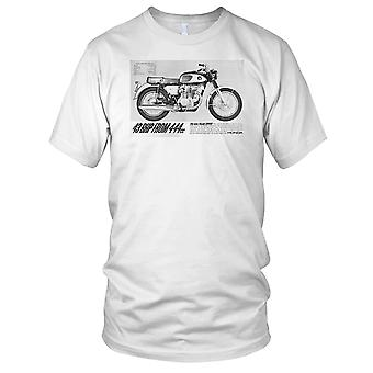 Honda CB450 motocicleta clásica moto motorista hombre T Shirt