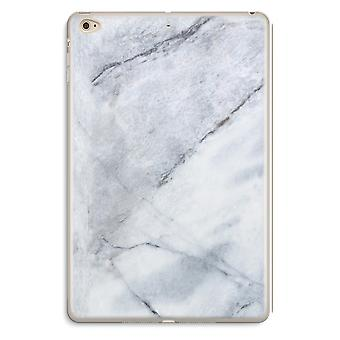 iPad Mini 4 Transparent Case (Soft) - Marble white