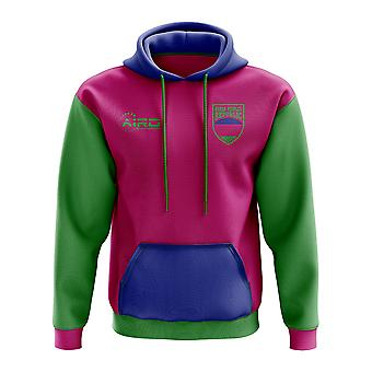 Kuban Peoples Republic Concept Country Football Hoody (Pink)