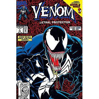 Marvel Comics poster venom lethal protector part 1