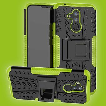Para Huawei mate 20 pieza de caso 2 Lite híbrido protección de cubierta de la caja del bolso verde al aire libre SWL