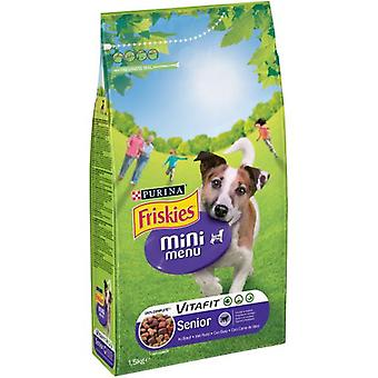 Friskies Pienso Dog  Mini Menu Senior Pollo y Buey (Dogs , Dog Food , Dry Food)