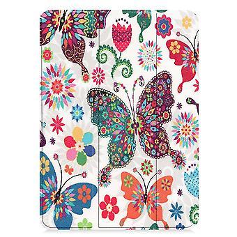 iPad Pro 11 (2018) Slim fit gevouwen cover-kleurige vlinder