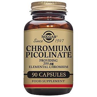 Solgar Chromium Picolinate 200 mcg 90 Capsules (Diet , Supplements)