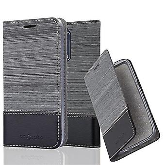 Cadorabo case for Nokia 8 2017 - mobile case with stand function and compartment in the fabric design - case cover sleeve case bag book