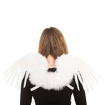 Feather Wings. Mythical White (80x26)