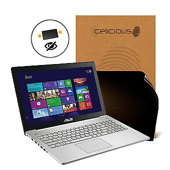 Celicious Privacy 2-Way Anti-Spy Filter Screen Protector Film Compatible with ASUS VivoBook N550JX (Non-Touch)