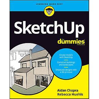 SketchUp pour les nuls par Aidan Chopra - livre 9781119336150